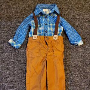 Infant Boys Cat & Jack Outfit size 18 months!